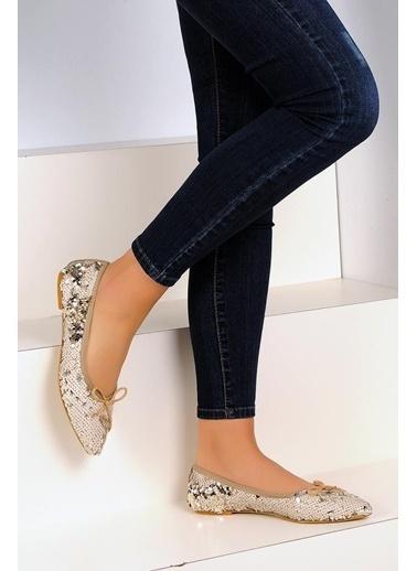 Pembe Potin A31-19 Kadın Ayakkabı Bej
